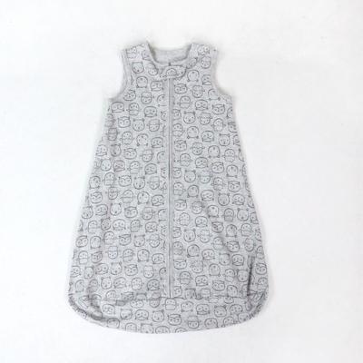 可爱卡通纯棉舒适透气柔软婴儿宝宝睡袋原单