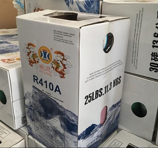 Dragón de hielo auténtico de los acondicionadores de aire refrigerante r410a freon refrigerante para especies de hielo nieve
