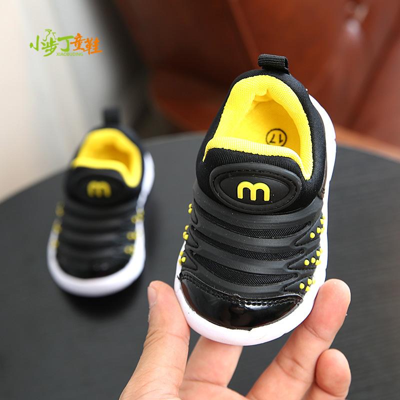 秋冬毛毛虫婴儿学步鞋软底0-2岁1-3男女童休闲鞋幼儿机能宝宝鞋子