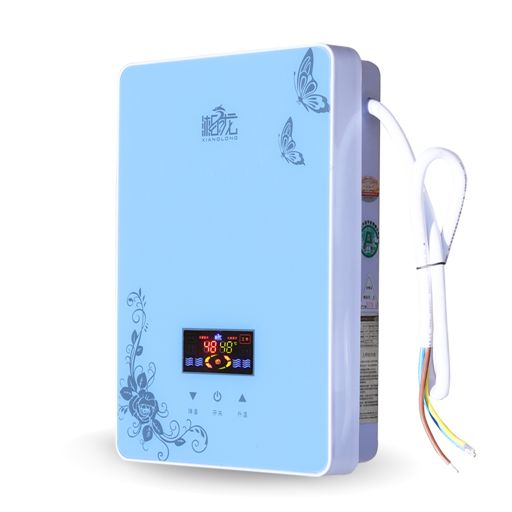 Hunan dragon KLSD-45- flying, instant electric water heater, shower, shower, fast heating, low water pressure, water storage, frequency conversion constant temperature