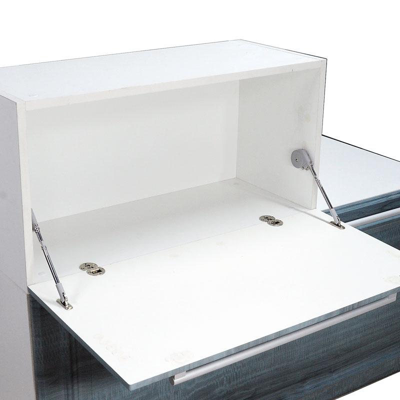 食器棚の下を支える油圧レバーを置き竿ひっくり返ってドア門ロッドガス支え空気圧ロッド減衰気圧レバー金属パーツ