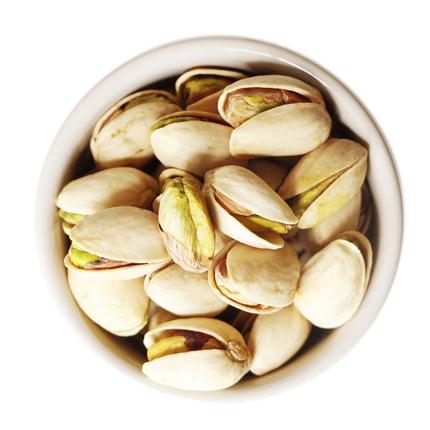 青草坞-开心果250g*2罐装坚果干果炒货零食 原味无漂白500g包邮