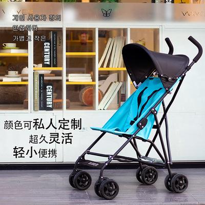 轻便折叠婴儿推车可坐可躺婴儿车简易小孩童车宝宝手推车避震伞车