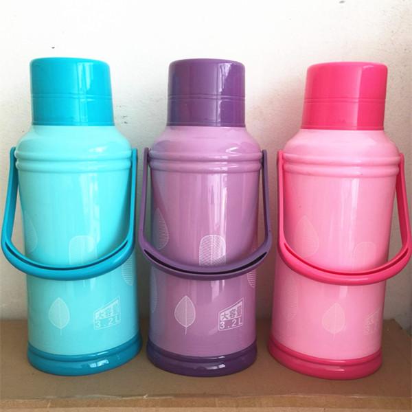 新しい家庭用ガラスの内部にはポット魔法瓶大容量魔法瓶まほうびんプラスチック魔法瓶殻学生