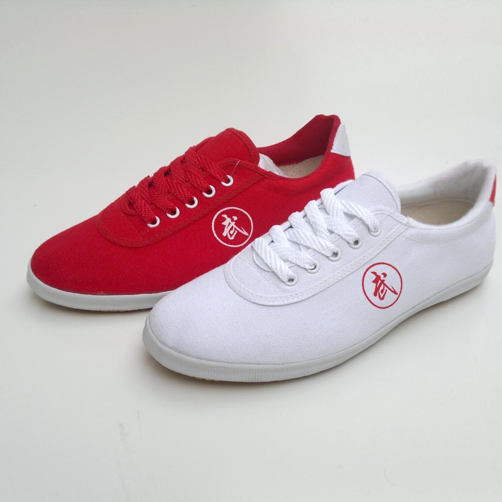 双星武术鞋运动鞋结实耐磨牛筋底健身鞋帆布鞋男女鞋