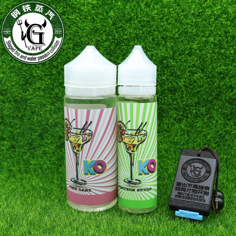 Аутентичные импорта сша ко розовый дым электронной сигареты жидкости большой крови дым ягоды повар PK