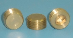 Pneumatic components within the six corners of outer plug pipe / Cap / bulkhead pipe plug copper plug wholesale price