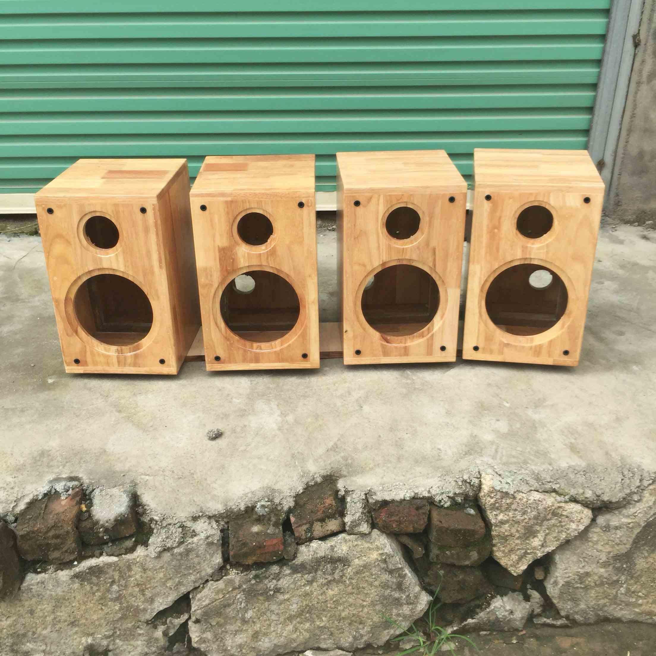 6.5 pulgadas de sonido estante vacío de madera maciza