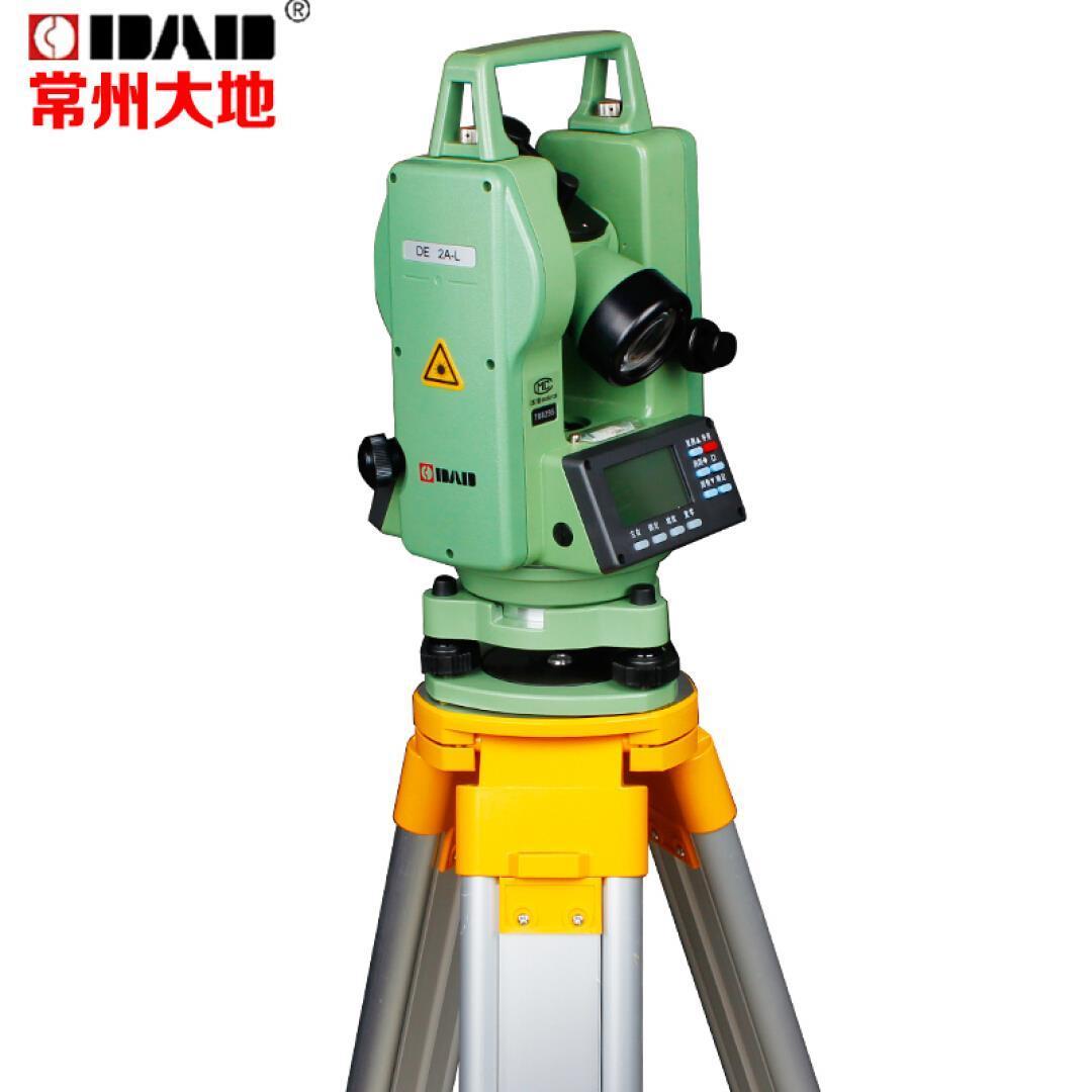 Changzhou แผ่นดินพ่อเดี่ยวและคู่ของกล้องวัดมุมเลเซอร์ความแม่นยำสูงแบบทางวิศวกรรม DE2ADE2A-L2 seconds