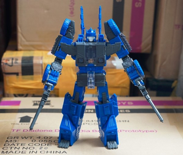 Transformers News: Titans Return Sixshot Prototype Auction