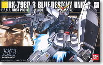 HGUC 1/144 RX-79BD-3 BLUE DESTINY UNIT-3 蓝色宿命三号机