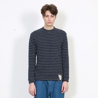 TYAKASHA2015塔卡沙AKA系列男款藍白條紋圓領T恤24