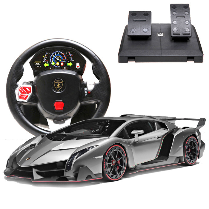 poison lamborghini charge grande distance de voiture de contr le p dales course du volant katsuo. Black Bedroom Furniture Sets. Home Design Ideas