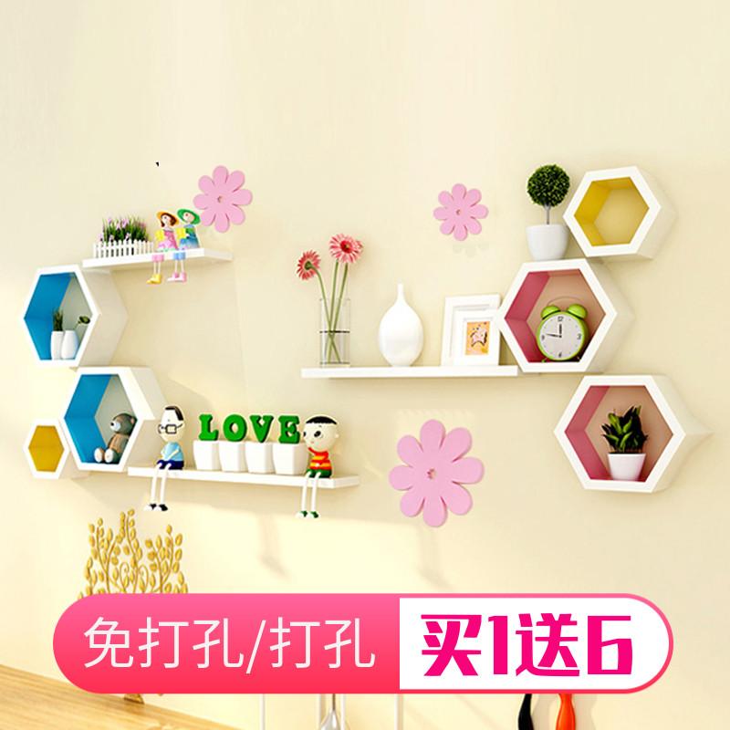 decorative shelves living room