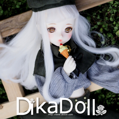 taobao agent Free shipping DK 1/4 bjd doll SD doll girl matcha cartoon dikadoll