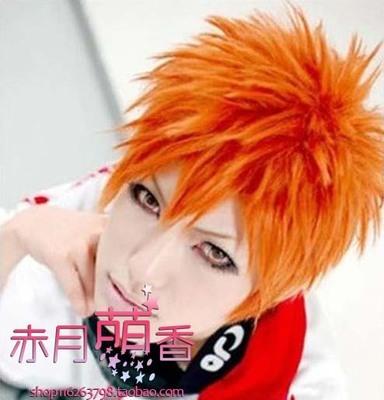 taobao agent Cosplay Wig Bleach BLEACH Kurosaki Ichigo Payne/Irie Masaichi Orange Anti-Alice