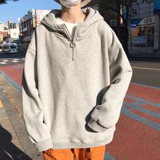2019春装男款韩版连帽套头衫卫衣 WY01-P65