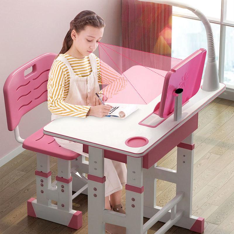 【加宽加厚】儿童学习桌椅可升降小学生写字桌椅套装家用写字桌台