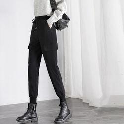 羽绒裤女外穿冬2020新款高腰加厚裤子宽松显瘦时尚年轻款超厚棉裤