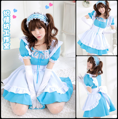 taobao agent Free gloves * Lolita cosplay sexy little cook girl maid costume lace anime maid costume costume