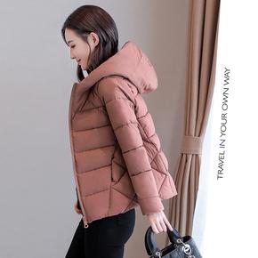 冬装新款韩版宽松显瘦棉服外套