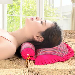荞麦决明子颈椎枕头修复颈椎专用护颈枕反弓病人牵引成人理疗枕芯