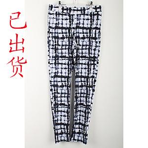 6083#2018春秋季时尚清凉打底裤花色显瘦长裤(实拍)