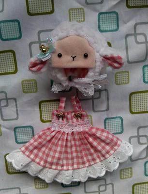 taobao agent bjd 6 points 8 points 1/6 1/8 lati y/ob11 animal cat holala dress baby clothes giant baby cloth