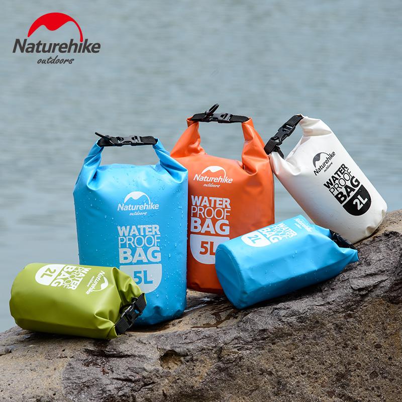 Unisex bơi bãi biển túi chống thấm nước trôi túi chống thấm nước hộp không thấm nước Naturehike túi lưu trữ 2018