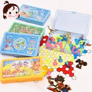 Giáo dục cho trẻ em đồ chơi cờ vua sáng tạo đa chức năng bàn cờ trò chơi cờ vua máy tính để bàn chuyến bay cờ vua cờ backgammon