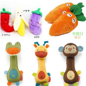 萌萌 ~ Pet đồ chơi trái cây và rau Con chó đồ chơi vocal cắn kháng con chó con mèo mol Teddy VIP