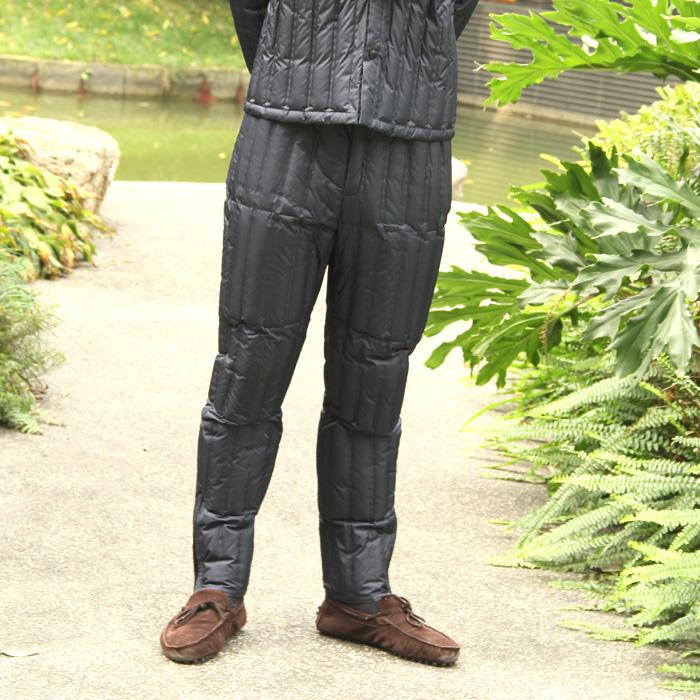 Chuanguan nam mùa đông quần áo trung và cũ tuổi xuống áo khoác kích thước lớn lót xuống quần người đàn ông thẳng dày