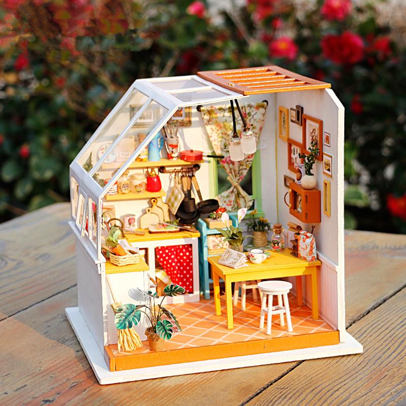 立体小木屋