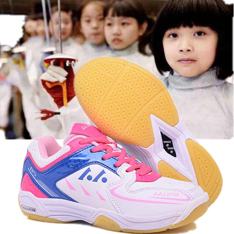 Thanh thiếu niên vị thành niên hàng rào sneakers chuyên nghiệp hàng rào giày của trẻ em hàng rào đào tạo giày non-slip mã nhỏ sinh viên hàng rào giày