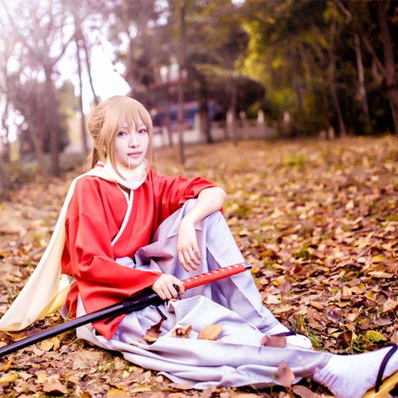 Mãi mãi Kiệt Tác Gintama Theater Phiên Bản Kết Thúc Chong Tian Chung Wu COS quần áo anime COSPLAY Kimono toàn bộ