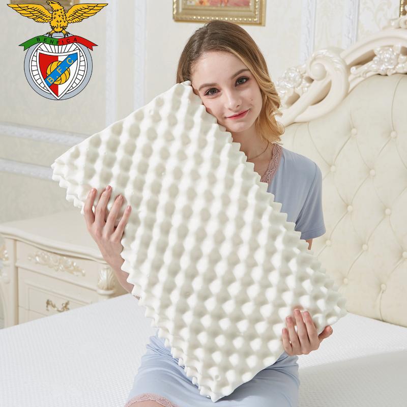 【送枕套】泰國天然乳膠枕記憶枕芯