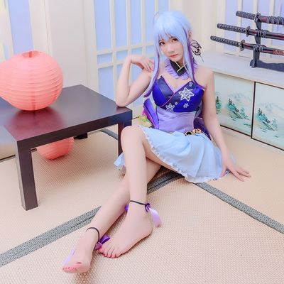 taobao agent Spot butterfly house Vocaloid muted miku house dance freely mercy cosplay costume set