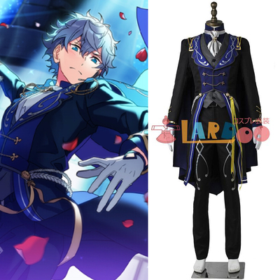 taobao agent Idol Dream Festival Remembrance*Black and White Checkmate Senaizumi cos full set of cosplay clothes