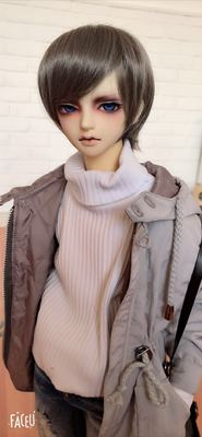 taobao agent Bjd wig 3 points 4 points old sauce-scented old hair loses blood