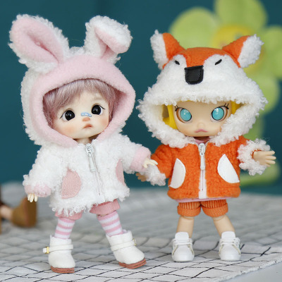 taobao agent New feedback! ob11 baby clothes bjd GSC body9 body Molly cute animal clothes suit