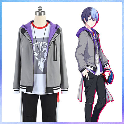 taobao agent Spot World Plan color stage feat Aoyagi Toya cos suit Hatsune Miku cosplay costume