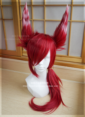 42agent Deep sea home] LOL League of Legends against Yusha cos wig cosplay wig - Taobao