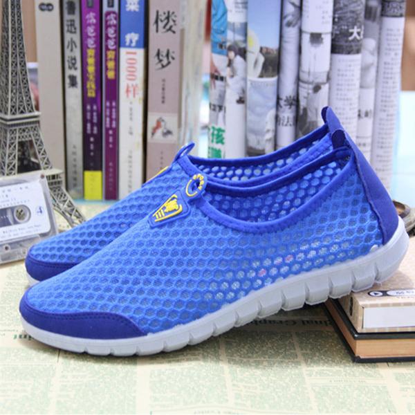 2019 весна обувь женская старый пекин квартира ткань обувная мужской и женщины дыхания обувной мисс случайный движение лето меш обувной