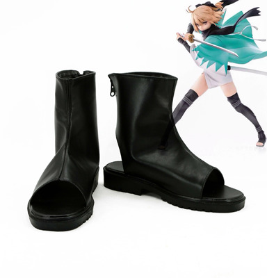 taobao agent No. 2826 FateGrand Order Saber Okita Souji COS shoes COSPLAY shoes anime shoes