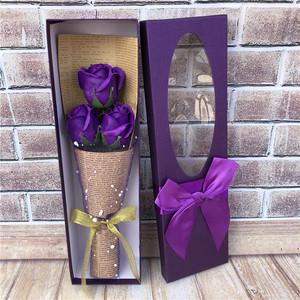 Quà tặng ngày của phụ nữ Xà phòng Hoa hồng Hoa cẩm chướng Mô phỏng Hộp hoa lãng mạn Gửi cho giáo viên Lễ Tạ ơn Ngày lễ thực tế - Hoa nhân tạo / Cây / Trái cây
