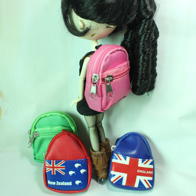 taobao agent Feihua 8 super small mini schoolbag color pattern backpack small cloth yosd soldier rose red green
