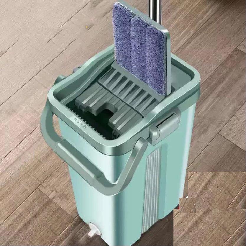 免手洗拖把家用一拖净干湿两用拖布懒人挤水