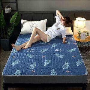 10新款床垫四季可水洗床垫子榻榻米可折叠1.5米单双人学生宿舍