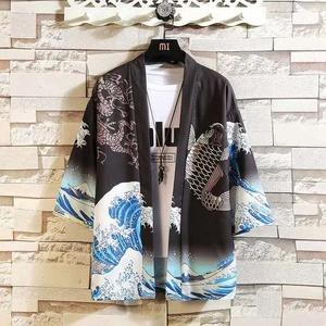 防晒衣中国风道袍男女情侣国潮汉服开衫和服宽松潮夏季日式薄外套