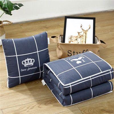 抱枕被子两用多功能办公室午休空调夏凉被沙发靠垫靠枕汽车枕头被